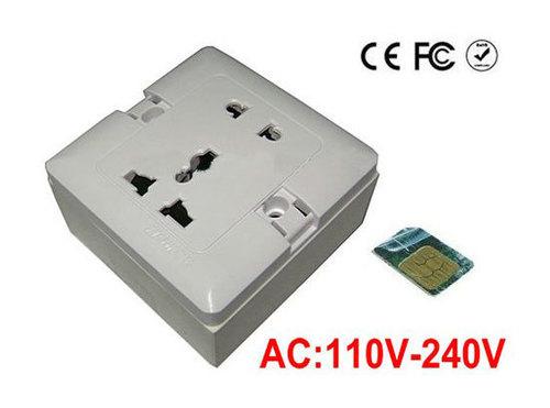 SPY GSM BUG MICROPHONE IN ELECTRIC SOCKET