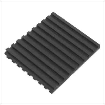 Rubber Ribbed Pad