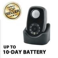 MOTION ACTIVATED NIGHT VISION MINI SPY CAMERA WITH 10 DAY BATTERY LIFE