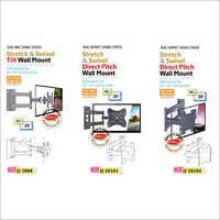 Stretch & Swivel Tilt Wall Mount