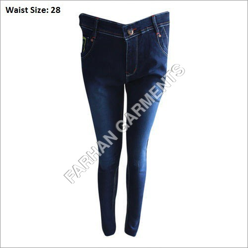 Ladies Straight Denim Jeans