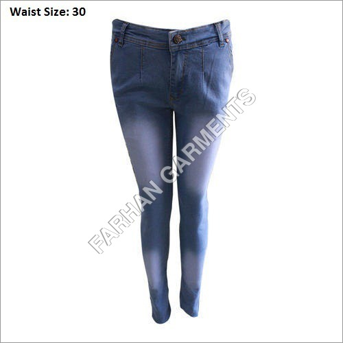 Stretch Pencil Denim Jeans