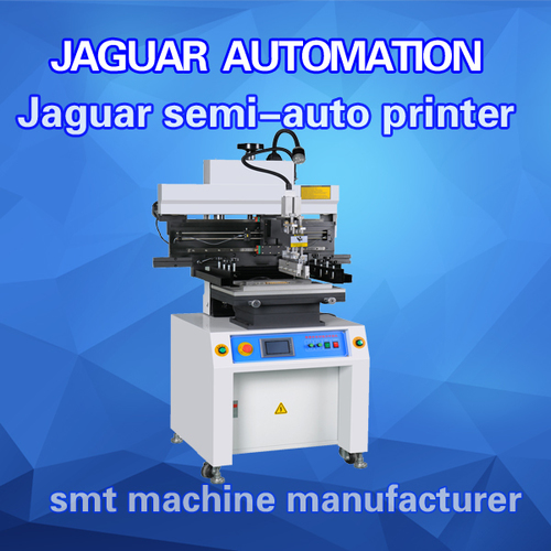 LED SMT Semi Auto Solder Paste Printers