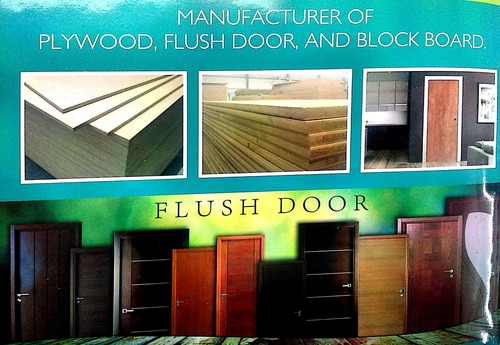 Mix Pine Flush Doors