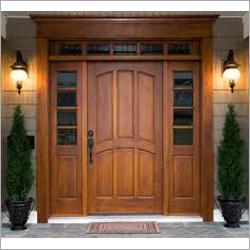 Wooden Pine Mix Flush Doors