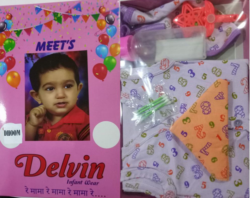 Gift pack for new born baby