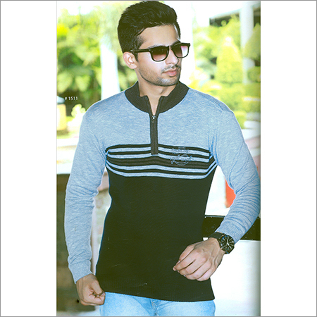 Mens Designer Grey SweatShirt