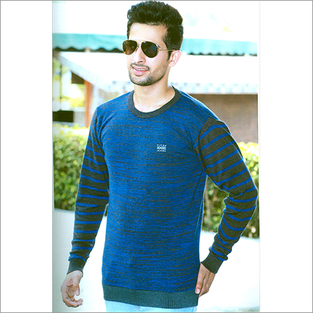 Mens Flat Knit Full Sleeves T-Shirt