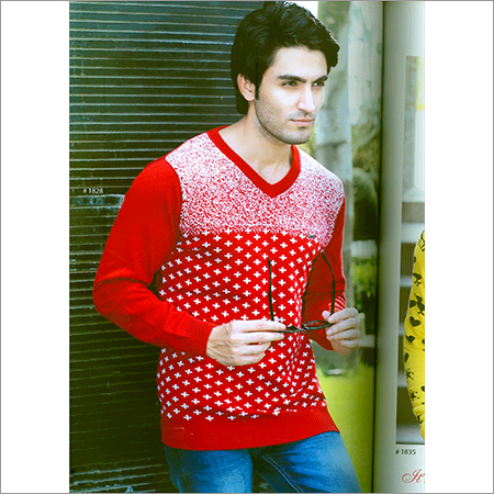 Flat Knitted Full Sleeves T-Shirt