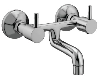 Tap Series Wall Bath Mixer Without Bend