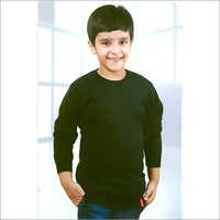 Kids Full Sleeve Black SweatShirt