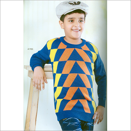 Kids Flat Knit Full Sleeve SweatShirt