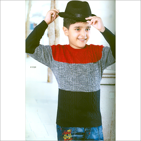 Kids Full Sleeve Designer SweatShirt