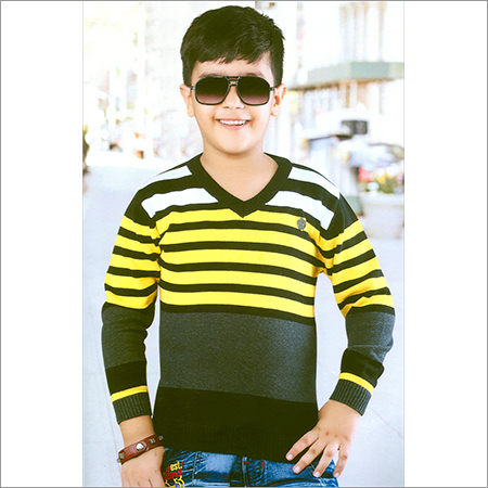 Flat Knit Full Sleeve SweatShirt