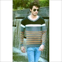 Mens Flat Knit SweatShirt