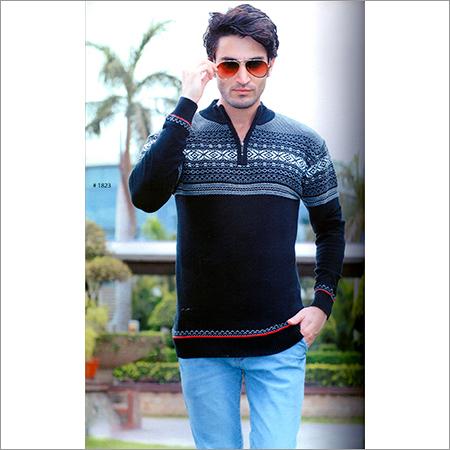 Men's Full Sleeve Black SweatShirt