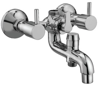 Tap Series Wall Mixer 3In1