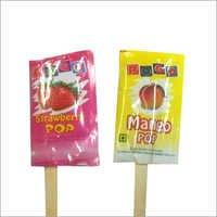 Mango And Strawberry Flavored Ice Cream Stick Loll