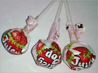 Strawberry Flavored Lollipop