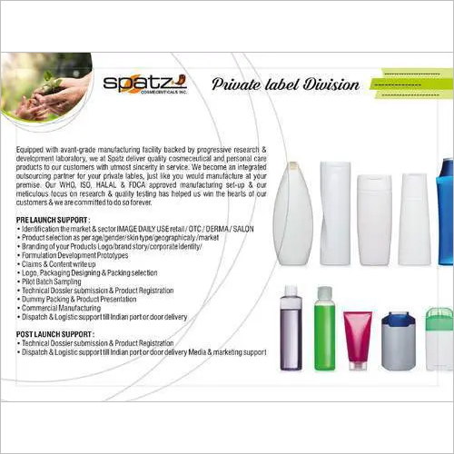 Third Party Manufacturer Of Cosmetics Products