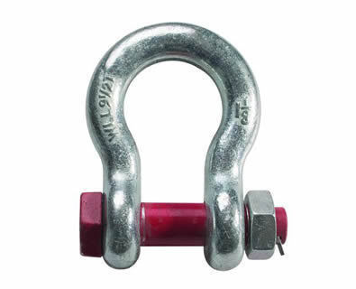 Bow Shackle Nut Bolt