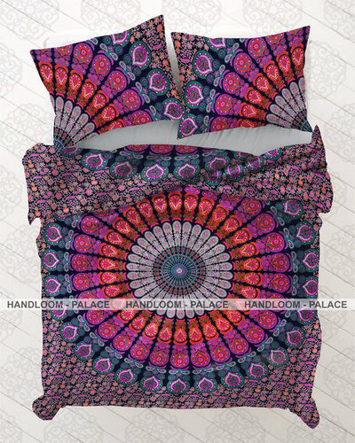 Printed Mandala Duvet Cover