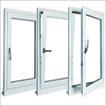 Tilt Turn UPVC Windows