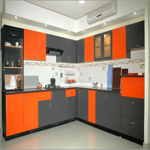 Attractive PVC Modular Kitchen