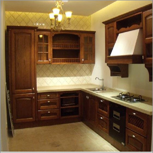 PVC Kitchen Wooden Cupboard