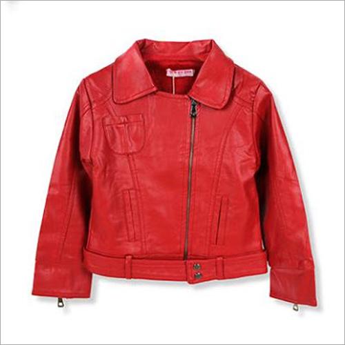 Kids Designer Leather Jacket