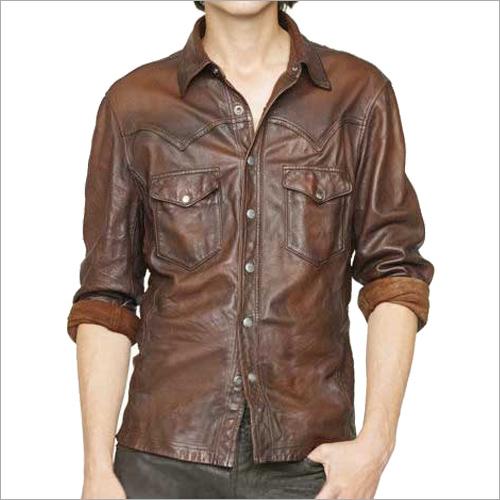 Stylish Leather Shirt