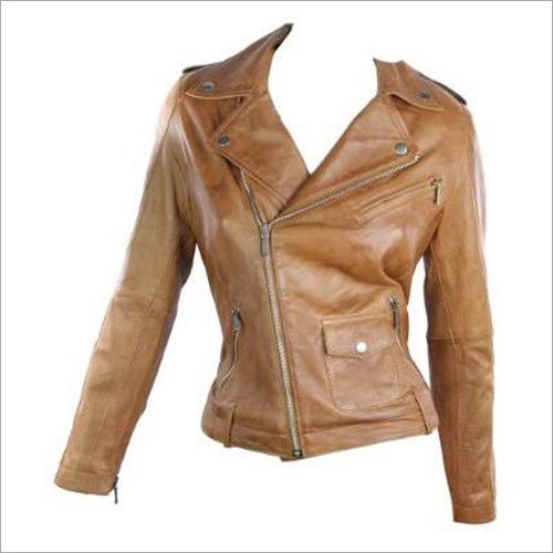 Suede Ladies Leather Jacket