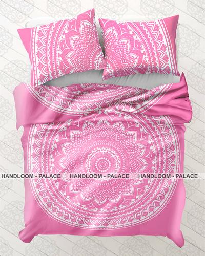Mandala Donna Duvet Cover Quilt Set