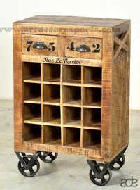 Indian Reclaimed Bar Cabinet