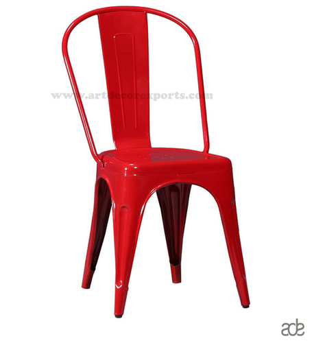 Iron Cello Chair (Red)