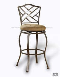 Modern Iron Bar Chair
