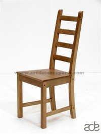 Wooden Dark Chair