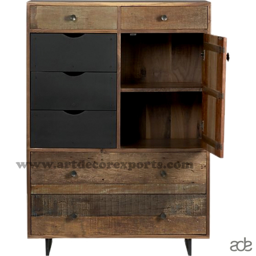Rustic Tall Chest