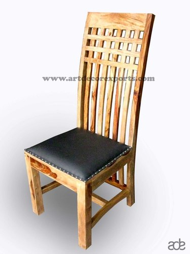 Rosewood chair with Leather Seat