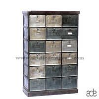 Iron Drawer Chest