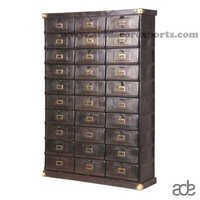 Multi Drawer Metal Chest