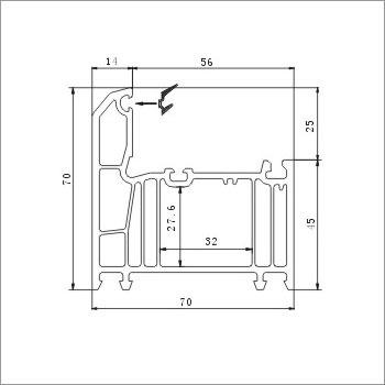 70 Flat-Open Frame