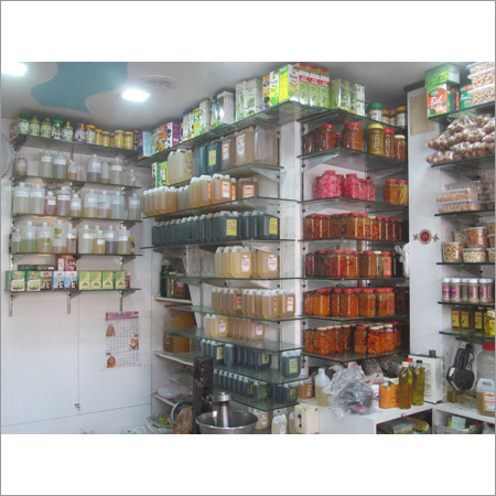 Oil Shop Interior