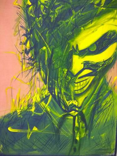 Joker Psychedelic painting