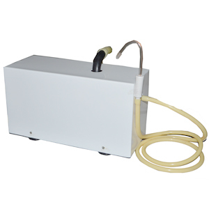 Motorised suction with direct drain