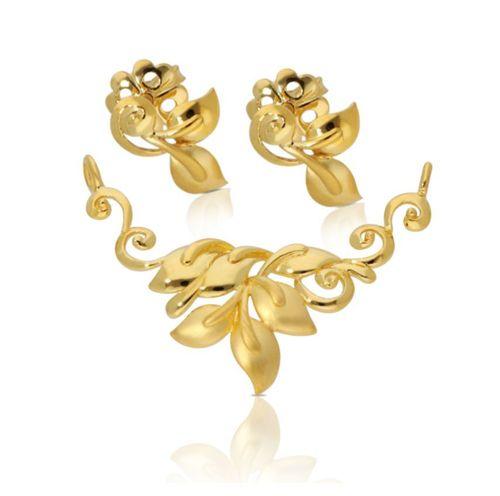 Gold Tanmaniya Set