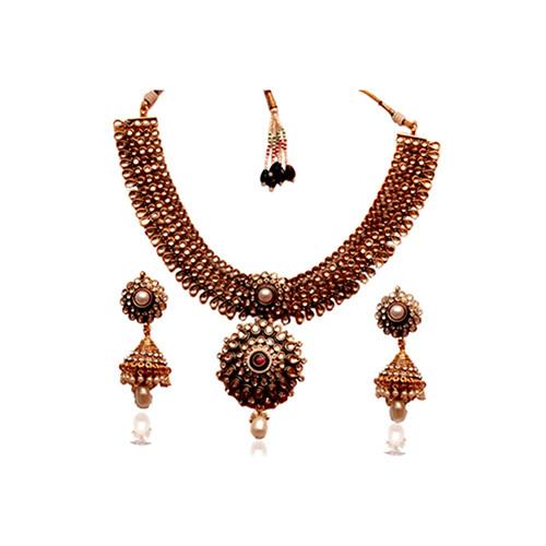 Round Antique Necklace