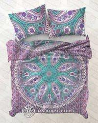 Mandala Hippie Duvet Cover