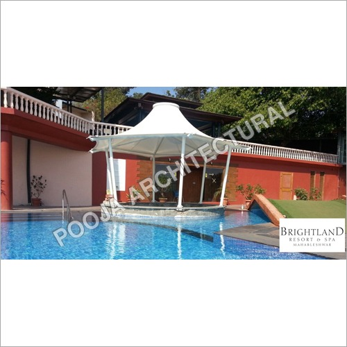 Tensile Membrane roof for swimming pool &Jacuzzi .
