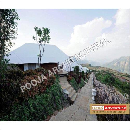 Tensile Membrane resort tent.